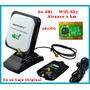 Antena Usb Wifi Internet Wifisky Auditoria 5800mw 60dbi 2 Km
