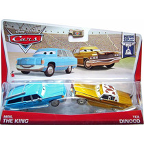 Cars Disney Mrs. The King & Tex Dinoco. Psiton Cup.