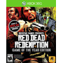 °° Red Dead Redemption Goty Para Xbox 360 Y One En Bnkshop