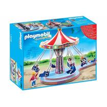 Playmobil 5548 Carrusel Con Columpios Voladores Envio Gratis