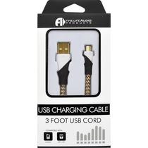 Cable De Datos Carga Usb A Micro Usb Uso Rudo Celulares 3041
