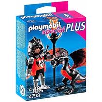 Playmobil 4793 Caballero Y Dragon Medieval Castillo Retromex
