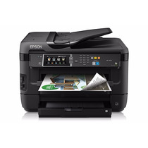 Impresora Epson Wf7620 13x19 + Sistema De Tinta Continua