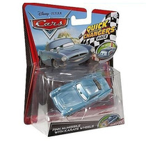 Cars Disney Finn Mc. With Crash Damaged. Quick Changers