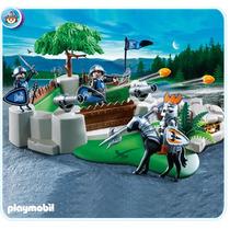 Playmobil 4014 Superset Caballeros Halcon, Castillo Medieval