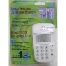 Alarma Con Teclado Y Anunciador Con Sensor De Movimiento Daa