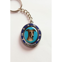 Llavero Greyhound - Acero Inoxidable - Hermoso!