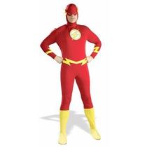 Disfraz De Flash Para Adultos, Envio Gratis