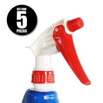 Atomizador De Plástico Para Limpieza Kit Con 5 Piezas
