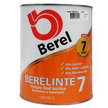 Pintura Berelinte Vinil Acrilica (1 Galon) Neutra Ber