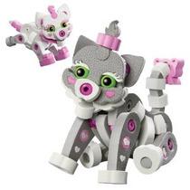 Bloco Toys Inc Gato Y Gatito De Juguete De Construcción