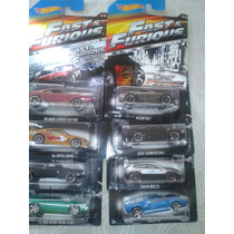 Hot Wheels Rapido Y Furioso( Fast & Futius ) Completa 2015