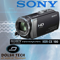 Sony Handycam Hdr-cx190 Full Hd 1080 Zoom 25x Zeiss Hdmi