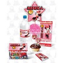 Kit Imprimible Mimi Minnie Mouse Fiesta Infantil Cumpleaños