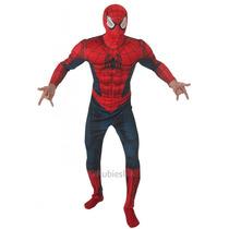 Spiderman Disfraces - Adultos Standard Deluxe Marvel Comic
