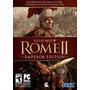 Total War: Rome Ii Emperador Edición [código De Juego Online