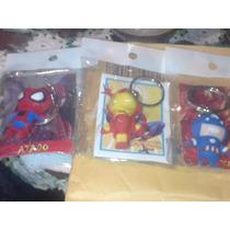 Llaveros Marvel Y Dc.spiderman,ironman,wolverine,ghost Rider