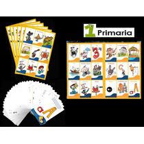 Loterias Didacticas 1°-6° Primaria (paq. 6 Loterias)