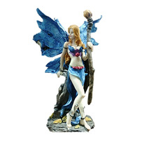 Hada Mágica, Mitología Griega Figura Resina 20cm - 25cm,