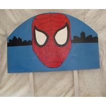 Cabecera Infantil De Spiderman El Hombre Araña