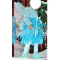 Disfraz De Hada Azul De Pinocho, Talla 3-4