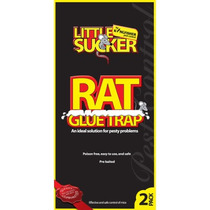 Rata Trampa - 2 Paquete De Pegamento Trampas Bandeja Sticky