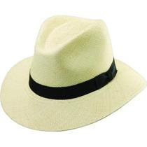 Gorra Scala Sombreros Panamá Burbuja Top Safari Hat Natural