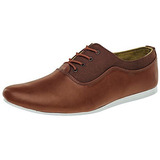 Zapatos Casuales Kzanova 8005 Cafe Oi