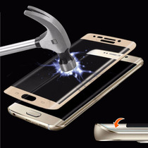 Mica De Cristal Templado Curva Para Galaxy S6 Edge Premium