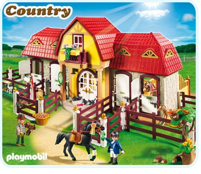 Playmobil 5221 granja de ponis con establo nuevo descuent for La granja de playmobil precio
