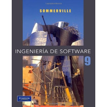 Libro Ingenieria De Software - Sommerville - 9 + Regalo