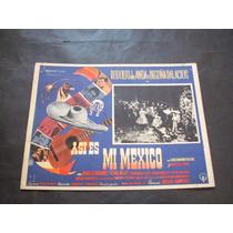 Asi Es Mexico Rodolfo De Anda Lobby Card Poster Cartel