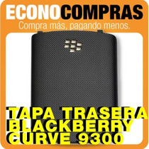 Tapa Trasera Blackberry Curve 9300 Original 100% Nueva!!!!!!
