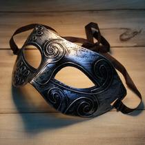 Máscara Retra De Romano Guerreiro Párrafo De Halloween