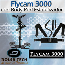 Flycam 3000 Soporte Body Pod Estabilizador Video Steadycam