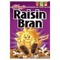 Raisin Bran Cereal 18,7 Oz Caja De Kellogg (paquete De 4)