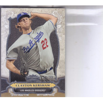 2014 Topps Triple Threads Gold Clayton Kershaw Dodgers /99