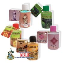 Kit De 5 Esencias - Para Rituales De Magia O Aromaterapia