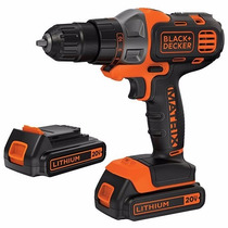 Kit Taladro Destornillador Inalambrico Black & Decker 20v