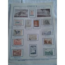 Colección 13 Estampillas Historia Antigua De Grecia 1937