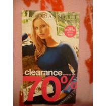 Victorias Secret Catalogo 2009 Blusas Botas Pijamas Ligueros