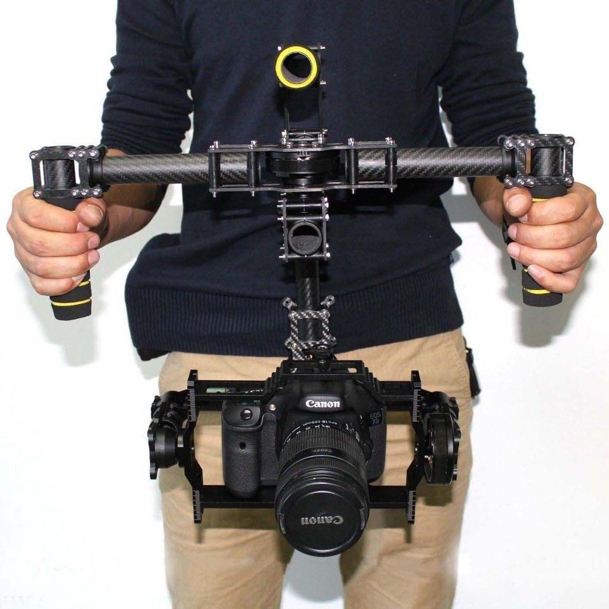 3 axis hhg5d estabilizador p camaras dslr canon sony nikon for Estabilizador de camara
