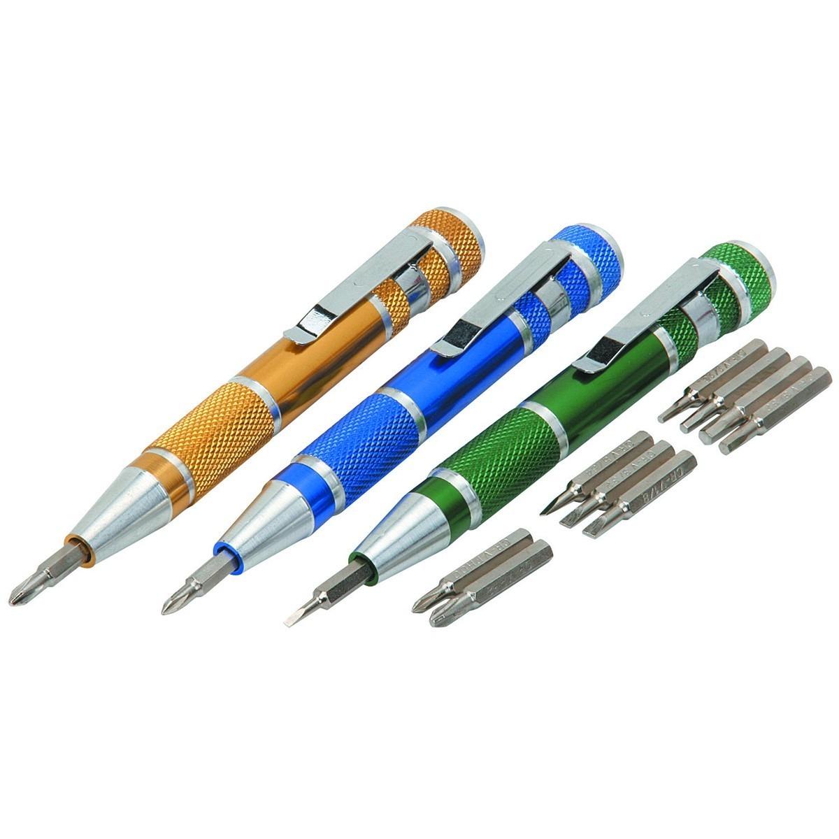 3 destornilladores de precisi n estilo pluma en - Destornilladores de precision ...