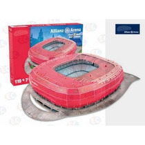 49001 Estadio Allianz Arena Bayern Munich 3d 119pz Nanostad