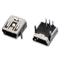 2 Conectores Mini Usb 5 Pines - Para Gps Mp3 Mp4 Celulares