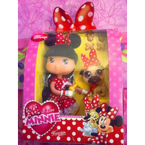 Disney Minnie Mouse Munequita Con Mascota Modelo 2