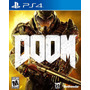Doom (nuevo, Sellado) - Play Station 4