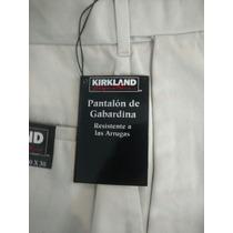 Pantalon Kirkland De Gabardina Nuevo