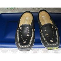 Zapato De Piso Damarichi 100% Original 100% Piel 4 Mex.