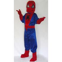 Disfraz Capitán America Hombre Araña Spiderman Niño Y Adulto